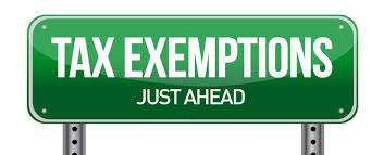 "Image of green road sign stating ""Tax Exemptions"" representing Ag Timber Certificates"