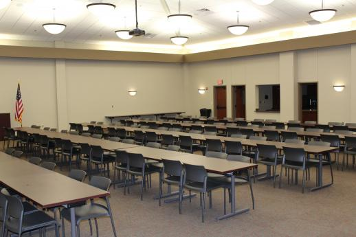 Photo of BCEC empty community room